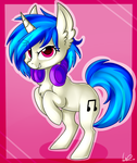 :COMMISSION: Chibi Vinyl Scratch by ShyShyOctavia