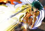 Shura gold saint in atack by witch-hecate