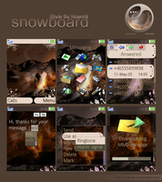snowboard Vector theme.. by Noem9