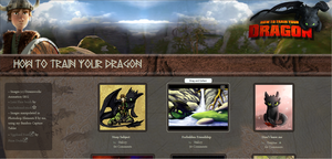 How To Train Your Dragon Gallery CSS by JeffrettaLyn