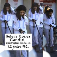 Selena Gomez Candid by CrazyPhotopacks