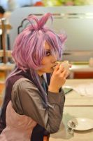 Randall with coffee (human ver.) by litas0216
