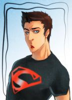 Hungry Superboy.. by XMenouX
