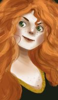 Merida by mixtwocolors