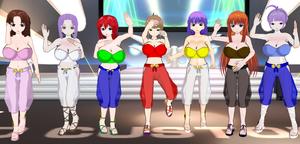 Inbo Mansion2 Belly Dancers by quamp