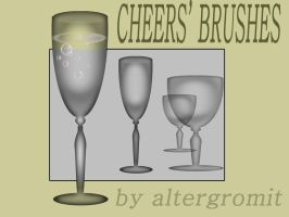Cheers - 2 brushes by altergromit
