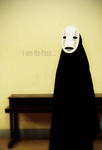 i am No-Face by bloody-savage