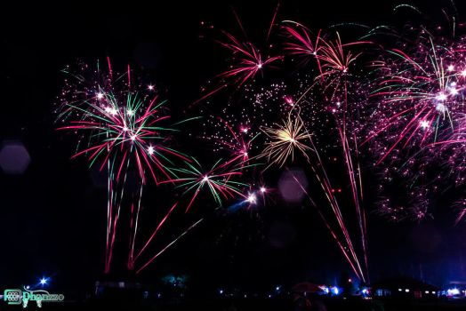 FireWorks 2014 #5 by dhanzzo