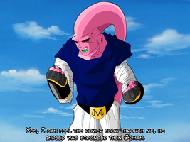"Super ""Rage"" Buu by RageVX"
