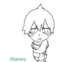Mini Zeref - Chapter 436 Lineart by Shanany