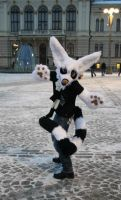 Fursuit - Mika the lemurcat by RaviTheBlueTiger