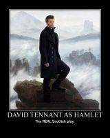 David Tennant as Hamlet by avalon-girl5