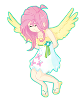 Young Fluttershy by o0Rabidroses0o