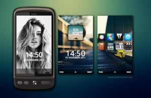 HTC Desire - Doutzen Kroes by Dane103