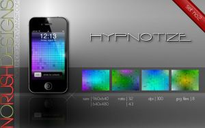 Mobile: Hypnotize - set no.2 by NoRushDesigns