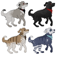 Canine Adopts #17 [OPEN] by ShironekoAdopts
