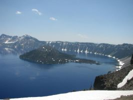Crater Lake 2 by silent-scenes