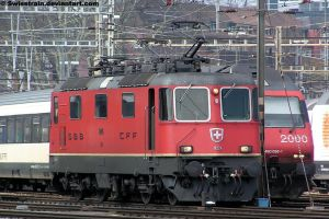 SBB Re 4-4 II 11224 by SwissTrain