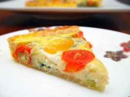 Vegetarian Quiche by maytel