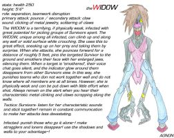 New L4D Infected - The Widow by Aonon
