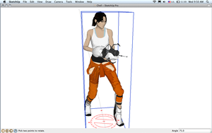 Chell by Noiporcs