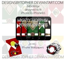 Power Ranger / Zyuranger - Wallpaper Pack by DesignsByTopher