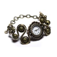 Steampunk Bracelet Edward by CatherinetteRings