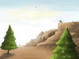 Pine valley by vuurvlam