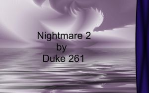 Nightmare2 by Duke261
