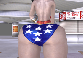 Big Booty Wonder Woman 1 by RedCirclesXNA