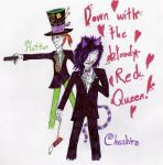 Down with the Bloody Red Queen by LukeSaturn