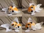 Goldfish Plushie by InkxInk