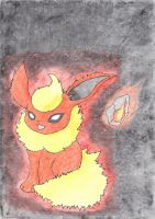 Flareon by LizardonEievui13