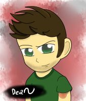 Dean whinchester by sorasarah212