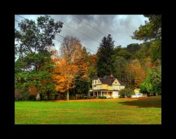Fall Foliage in Roscoe by Emowolf87