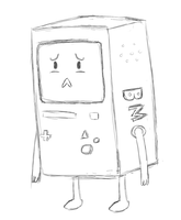 Bmo's Sad by Seranatis