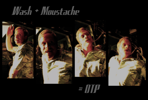 Wash + Moustache by peadragon