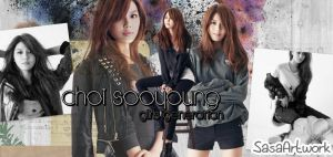 Sooyoung SNSD Black Banner by yoonaddict150202
