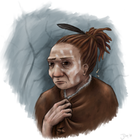 Neanderthal Woman by Jish-G