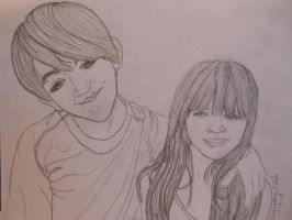 My 2 youngest kids by Momtat31