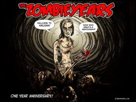 Zombie Years One Year Desktop by FWACATA