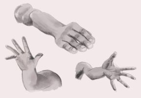 Foreshortening - Daily Practice by Olooriel