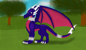Adult Cynder by ZomaTheDragon