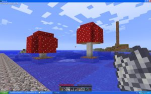 Big Mushrooms In Minecraft? by Miccopicco