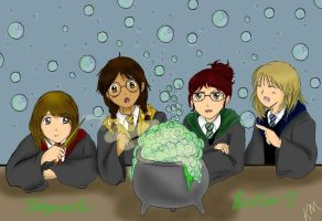 Hogwarts Pals by Kcie-Aiko