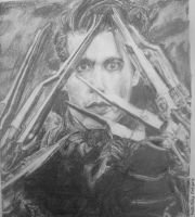 Edward Scissorhands by Qtfiddler