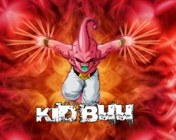 Kid Buu by Photshopmaniac