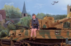 Panzer Girl by NinjaKuma