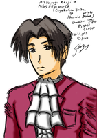 CF 07 Doodle - Edgeworth? by fire-doused