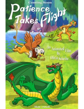 Movie Poster for Patience takes Flight by Animator-who-Draws
